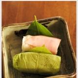 ハムの柿の葉寿司