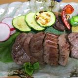 仙台名物牛たん醤油たれ焼き