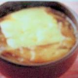 簡単♪オニオングラタン風スープ