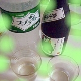 ★焼酎&レモン&スプライト★