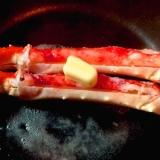 フライパンで焼くだけ★★ボイルたらば蟹のステーキ