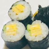 細巻き♡きゅうりと卵焼き