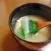 かぶの味噌汁