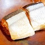 サバ缶ならぬ、圧力鍋で秋刀魚の水煮缶風