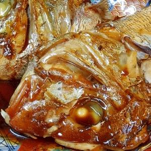 真鯛のアラの一夜干し&「かぶと煮」
