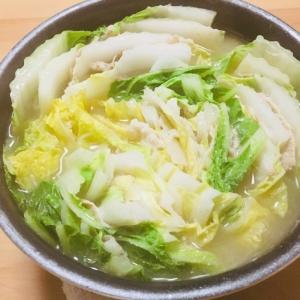 簡単!白湯スープの素で作るミルフィーユ鍋