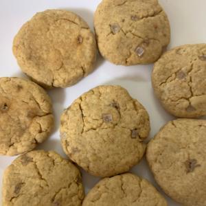 ザラメきなこクッキー