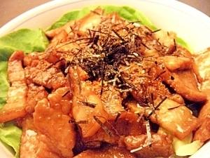 プルプル豚丼