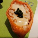大葉とチーズのいなり寿司