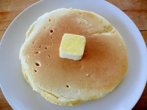 小麦粉から作る簡単パンケーキ