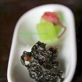 ふきの葉の佃煮*辛煮