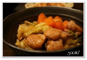 優しい味★鶏肉と人参とキャベツの煮物★