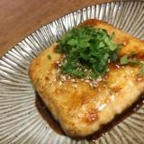 豆腐ステーキ♡焼肉のたれ味