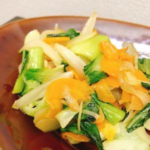 生姜香る野菜炒め