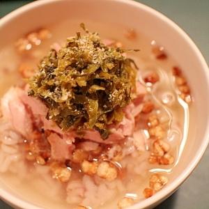 【お手軽 簡単】高菜が香るツナのお茶漬け ※ミニ