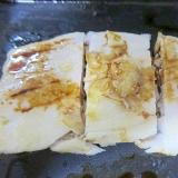 マグロのフライパン焼き