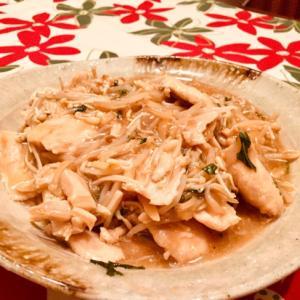 簡単やみつき♪鶏むね肉と紫蘇生姜炒め