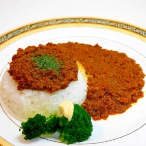 カレー粉で作る~ひき肉の!キーマカレー