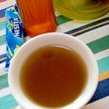 ホッと☆ライム香る抹茶入り生姜玄米茶♪