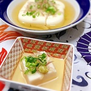 じーまみー豆腐(落花生の葛固め)
