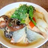 鮭と白菜の豆乳味噌鍋