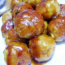 高野豆腐入り!甘酢鶏団子inチーズ