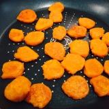 離乳食!手づかみ食べに、簡単かぼちゃのお焼き★