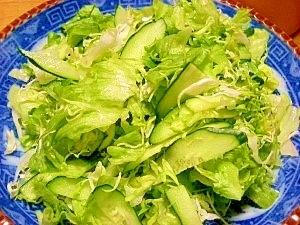 親父の為の☆お店のサラダ