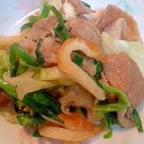 豚肉とキャベツ・ちくわの炒めもの