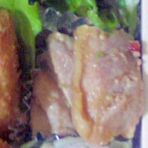 豚肉のペペロンチーノ塩麹焼き