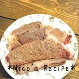 牛肉ステーキ*バター醤油味