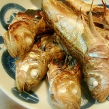 ハタハタの塩焼き 柚子胡椒風味