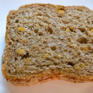 薩摩芋とふすまのソフトフランス食パン