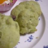 さつまいもと抹茶のクッキー