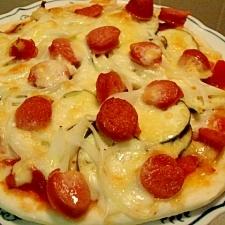 クリスピーピザ生地 薄力粉&BPで簡単に