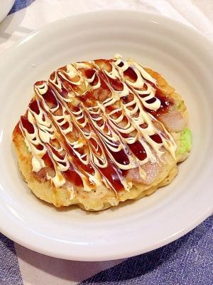 ふんわり山芋のお好み焼き