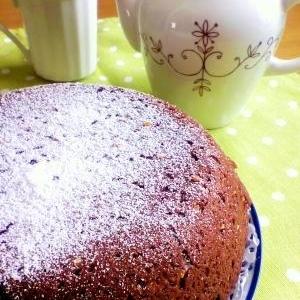 炊飯器で簡単♪ほろほろチョコケーキ