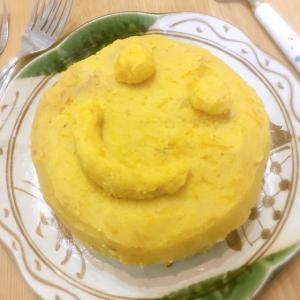 あまあま(о´∀`о)♡さつま芋クリームケーキ