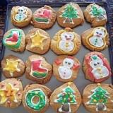 簡単クッキー(アイシングレシピとセットでどうぞ)