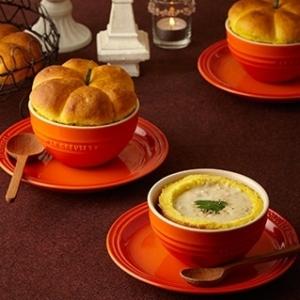 [ル・クルーゼ公式] かぼちゃパンとコーンシチュー