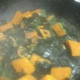 お弁当に☆わかめとかぼちゃのやわらか煮