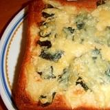焼海苔チーズトースト