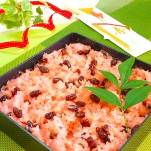 とっても美味しい、炊飯器で作る甘納豆のお赤飯