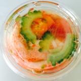 簡単‼︎涼やか〜♫夏野菜の和風ゼリー寄せ