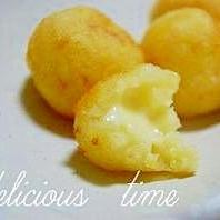 チーズとろ~り☆コロコロポテト。