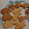 ホットケーキミックスで型抜きクッキー