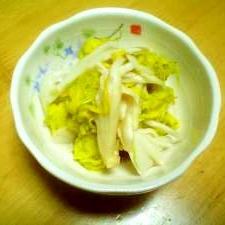 菊と舞茸のおひたし