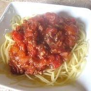 トマトソース スパゲッティ