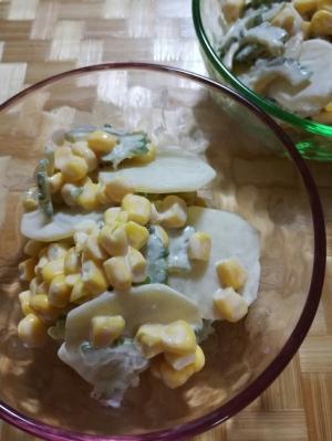 シャキシャキ♪ゴーヤの簡単サラダ