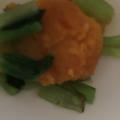 小松菜とかぼちゃの煮物